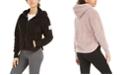 Calvin Klein Drop-Shoulder Fleece Jacket
