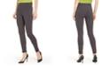 Hue Brushed Fleece-Lined Ponté-Knit Leggings