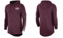 Nike Men's Virginia Tech Hokies Hooded Sideline Long Sleeve T-Shirt