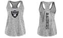 Authentic NFL Apparel Women's Oakland Raiders Space Dye Tank