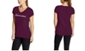 Champion Women's Logo V-Neck T-Shirt