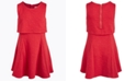 Epic Threads Big Girls Embossed-Heart Popover Dress, Created For Macy's