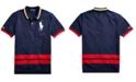 Polo Ralph Lauren Big Boys Big Pony Cotton Mesh Polo Shirt
