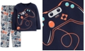 Carter's Little & Big Boys 2-Pc. Gamer Pajamas Set