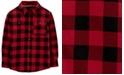Carter's Big & Little Boys Cotton Buffalo Check Button-Down Shirt