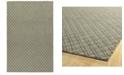 """Kaleen Sartorial SAT01-75 Gray 3'6"""" x 5'6"""" Area Rug"""