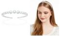 INC International Concepts INC Silver-Tone Graduated Imitation Pearl Headband, Created For Macy's