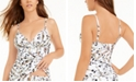 Kenneth Cole Jungle Fever Printed Push-Up Tankini Top