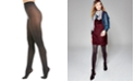 INC International Concepts I.N.C. Women's Herringbone Tights With Metallic, Created For Macy's