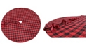 "Manor Luxe Holiday Plaid Tree Skirt 56"" Round"