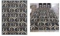 "KM Home CLOSEOUT! 3796/1020/Gray Imperia Gray 3'3"" x 4'11"" Area Rug"