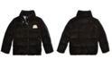 Polo Ralph Lauren Big Girls Quilted Velvet Down Jacket