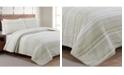 American Home Fashion Estate Taj 3 Piece King Quilt Set