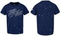Nike Toddler Boys Speckle-Print Cotton T-Shirt