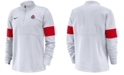 Nike Men's Ohio State Buckeyes Therma Half-Zip Pullover