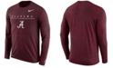 Nike Men's Alabama Crimson Tide Velocity Travel Long Sleeve T-Shirt