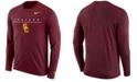 Nike Men's USC Trojans Velocity Travel Long Sleeve T-Shirt