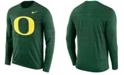 Nike Men's Oregon Ducks Velocity Travel Long Sleeve T-Shirt