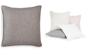 "Hotel Collection Linen Basic 20"" x 20"" Decorative Pillow, Created for Macy's"