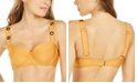 DKNY Grommet-Strap Underwire Bikini Top