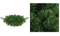 """Northlight 32"""" Lush Mixed Pine Artificial Christmas Swag - Unlit"""