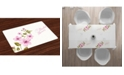 Ambesonne Bridal Shower Place Mats, Set of 4