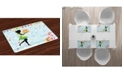 Ambesonne Birthday Place Mats, Set of 4