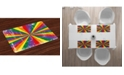 Ambesonne Pride Place Mats, Set of 4