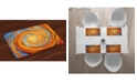 Ambesonne Fractal Place Mats, Set of 4