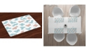 Ambesonne 90s Place Mats, Set of 4