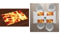Ambesonne Burnt Place Mats, Set of 4