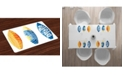 Ambesonne Surf Place Mats, Set of 4
