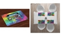 Ambesonne Groovy Place Mats, Set of 4