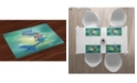 Ambesonne Underwater Place Mats, Set of 4