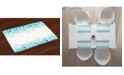 Ambesonne Turquoise Place Mats, Set of 4