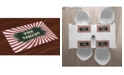 Ambesonne Circus Place Mats, Set of 4