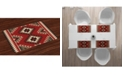 Ambesonne Afghan Place Mats, Set of 4
