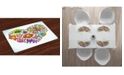 Ambesonne Doodle Place Mats, Set of 4