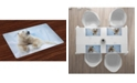 Ambesonne Zoo Place Mats, Set of 4