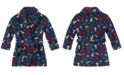 Tommy Hilfiger Toddler, Little & Big Boys Printed Plush Robe