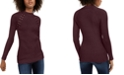 INC International Concepts I.N.C. Lace-Up Sweater, Created For Macy's
