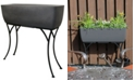 """RTS Home Accents Elevated Planter with Stand- 30"""" x 10"""""""