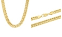 Macy's Men's Simple Curb Link Chain Necklace