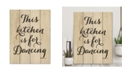 """Courtside Market This Kitchen is for Dancing 16"""" x 20"""" Wood Pallet Wall Art"""