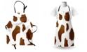 Ambesonne Cow Print Apron