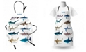 Ambesonne Shark Apron