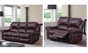 Abbyson Living Calvin Leather Living Room Collection