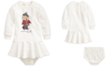 Polo Ralph Lauren Baby Girls Winter Bear Dress & Bloomer