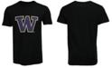 New Agenda Men's Washington Huskies Big Logo T-Shirt