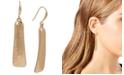 Robert Lee Morris Soho Gold-Tone Geometric Stick Drop Earrings